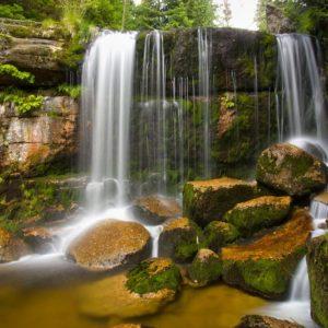 Vodopády Jedlová. Foto: Hynek Vermouzek