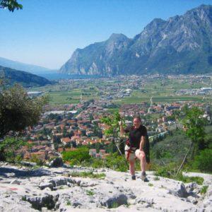 První zdolaná ferrata, Arco, Itálie