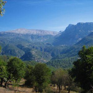 Řecko, Zagorie, pohoří Pindos