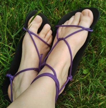 Barefoot sandály home made. Návod, jak si vyrobit Huarache