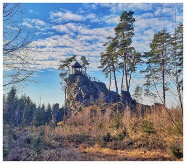 Výlet nedaleko Plzně: Mariina vyhlídka u Milínova